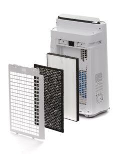 Luchtreiniger-nl-KC-D40EUW doorsnede filters